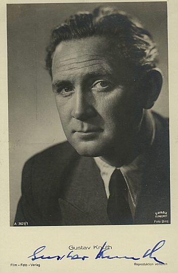 Gustav Knuth Schauspieler / actor