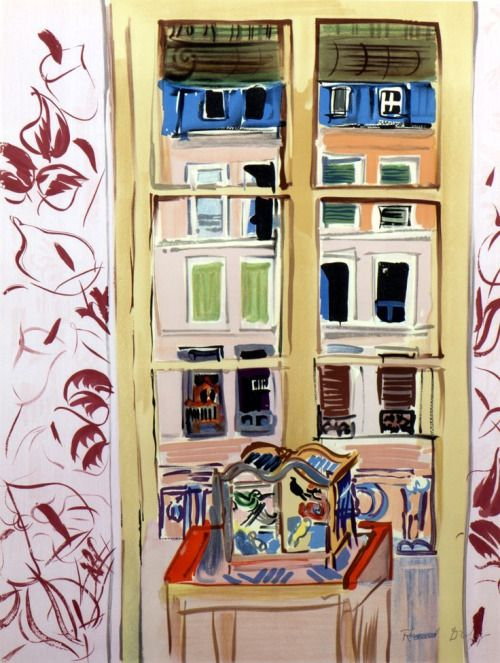 137 best images about art raoul dufy on pinterest for Fenetre sur rue hugo