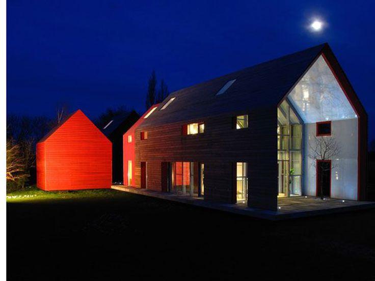 Modern barn style house