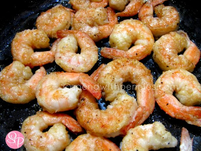 Love it?  Pin it! Follow Spend With Pennies on Pinterest for more great recipes! This is a super simple and speedy dish that just lets the shrimp shine!  No reducing of ingredients or sauces required!  I normally use fresh garlic when I'm cooking.  ...