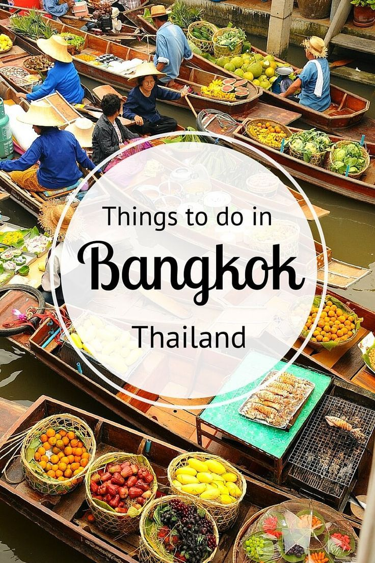 Things to do in Bangkok - where to eat, sleep, drink, shop, explore and much more! - Great list of things to do and see - TheOpportunisticTravelers.com