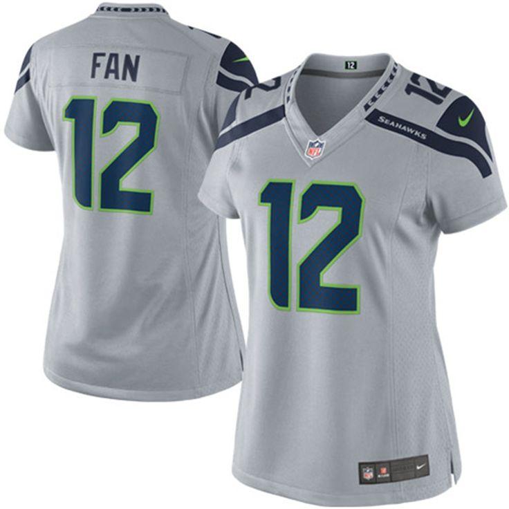 a932398b9 ... wholesale mens seattle seahawks fan 12 nike college navy alternate game jersey  12th fan seattle seahawks