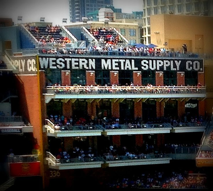 Western Metal Supply Building at Petco Park  #sandiego #padres #petcopark