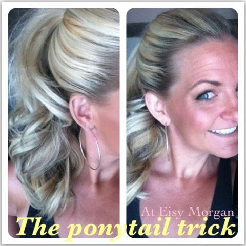 A bunch of great hair tutorials.: Tricks Videos, Hair Ideas, Hair Tutorials, Great Hair, Videos Tutorials, Hair Style, Ponies Tail, Eisi Morgan, Ponytail Tricks