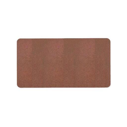 Golden Texture Background Template Address Labels