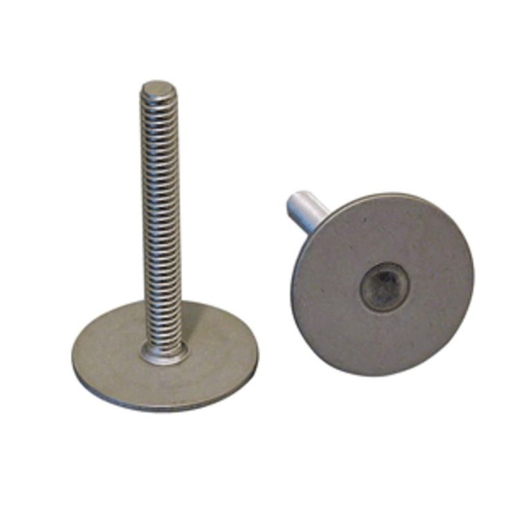 Weld Mount 1 Tall Stainless Stud w-1-4 x 20 Threads - Qty. 10. 1 Tall Stainless Stud w/1/4 x 20 ThreadMounts to virtually any surface using the AT-4010 Acrylic Adhesive.  This is a structural part with 500 lbs. of tensile strength and 650 lbs. in shear.  All studs have 1/4 x 20 threads.  Use for hanging panels, through deck mounts and many other uses. Weld Mount 1 Tall Stainless Stud w/1/4 x 20 Threads - Qty. 10Condition : This item is brand new, unopened and sealed in its original factory…