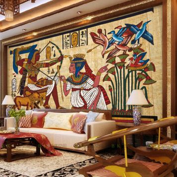 Egyptian Wallpaper Egyptian Home In 2019 Egyptian Home