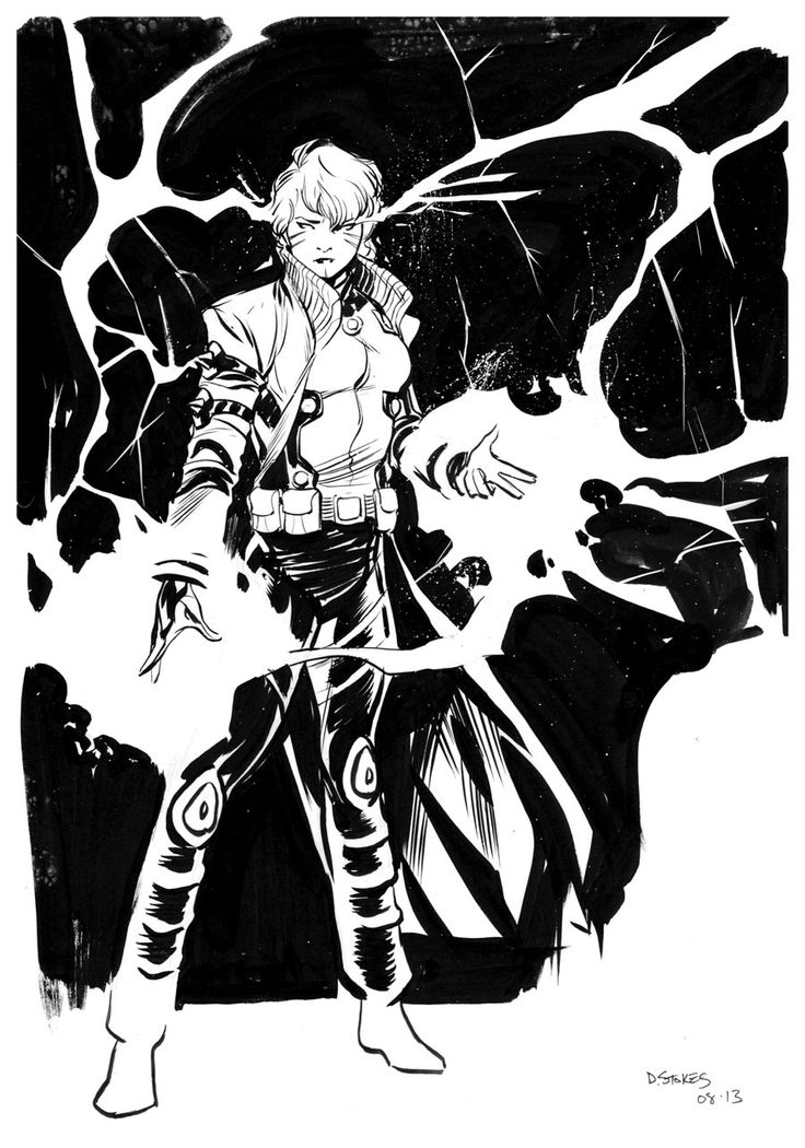 Rachel Summers by Dave Stokes