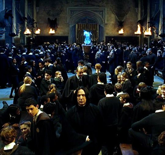 """Alan Rickman as Professor Severus Snape in """"Harry Potter and the Goblet of Fire."""""""