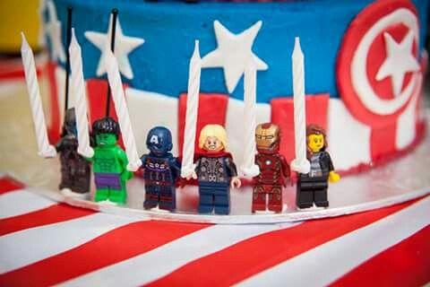 Avengers lego party