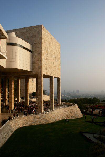 Getty Center Museum. Architect: Richard Meier (1989-95). 1200 Getty Center Dr, Los Angeles, CA 90049