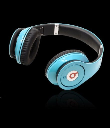 Monster Beats Solo Headphones With Control Talk In Blue
