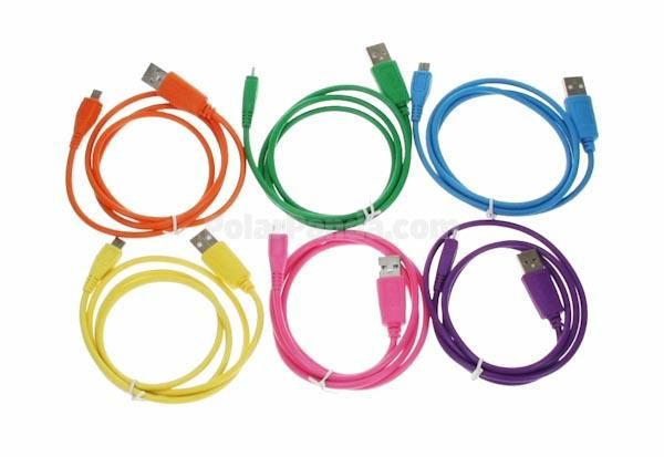 Värikäs Micro USB kaapeli 3,90€  Ei tarvitse olla välttämättä värikäs ja voi olla muutakin mallia, näitä tarvitaan meillä jatkuvasti, kun mies on mestari hajottamaan ja kadottamaan :)