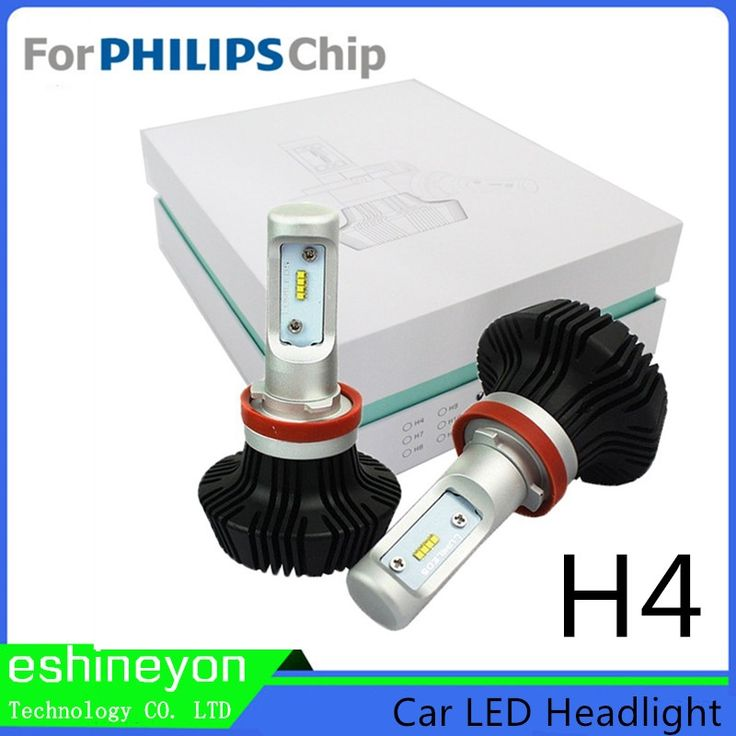 66.99$  Buy here - http://aiwp3.worlditems.win/all/product.php?id=32692544699 - High Power H4 Hi/Lo Led Car Headlight Conversion Fancy Headlights For Cars Led Auto Lights For P-hilips ZES Chips 6000K White