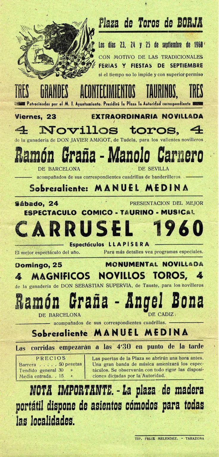 BORJA (Zaragoza - 1960)