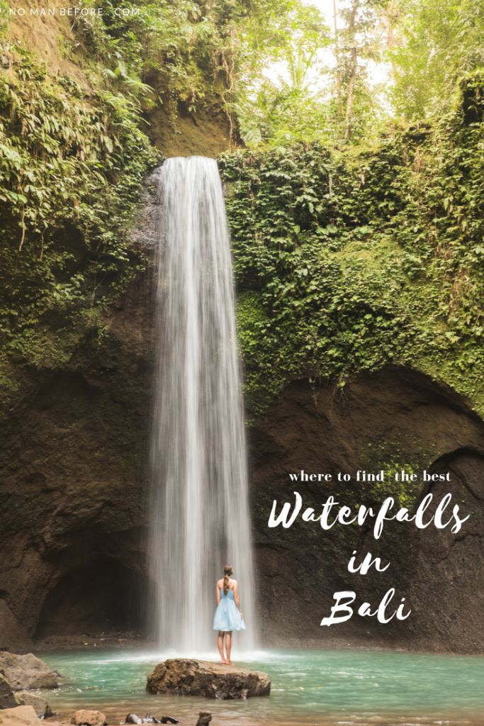Where to Find the Best Waterfalls in Bali, Indonesia | Bali's lush jungle that covers almost every ridge and ravine makes for some extra magic when you find yourself swimming at the foot of a waterfall. We decided to spend two days chasing waterfalls while we were based in Ubud. I wasn't looking for the biggest waterfalls, but ones with the best swimming spots, nestled away in the less-visited and prettiest parts of Bali. Here are our picks for the best waterfalls in Bali.