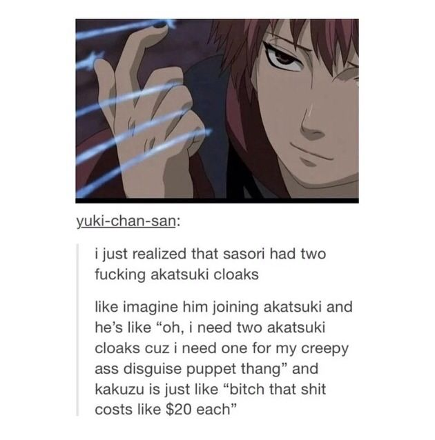 Sasori and Kakuzu