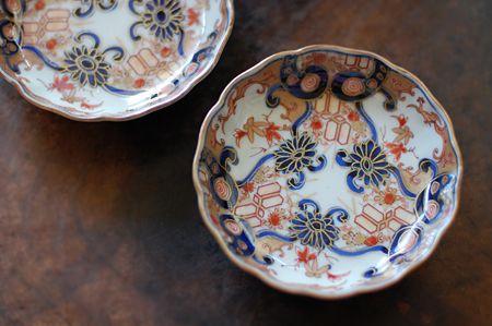 古伊万里の小皿にマリネをのせて - 雑貨と写真とコトノハ日記 くらしのたのしみ