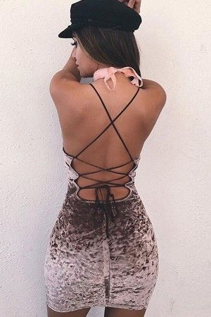 Dark Brown Lace Up Strappy Backless Sexy Velvet Bodycon Dress @ Sexy Club Dresses,Club Wear Dresses,Club Wear,Sexy Dresses,Sexy Dress,Evening Dresses,Sexy Party Dresses,Cheap Club Wear,One Shoulder Dresses,Sexy Mini Dresses,Ruched,Pleated Dresses,Clubbing Dresses,Dresses for Clubwear with Cheap Price. http://shareasale.com/m-pr.cfm?merchantid=43652&userid=1425877&productid=707995152&afftrack=