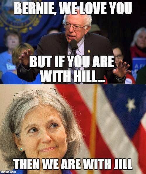 #JillStein #ItsInOurHands http://www.jill2016.com