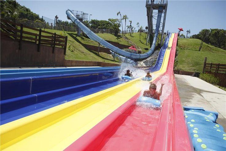 Wild Waves Water Park - Mat Racer