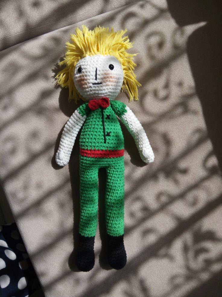 amigurumi, örgü oyuncak, pattern, crochet, tığişi, küçük prens, little prince