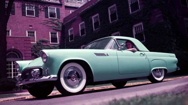 Ford Thunderbird 1955  http://www.autorevue.at/classic-cars/ford-thunderbird-ab-1955.html