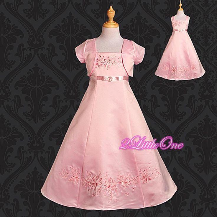 Mejores 25 imágenes de Mini Brides and Flower Girl Dresses en ...