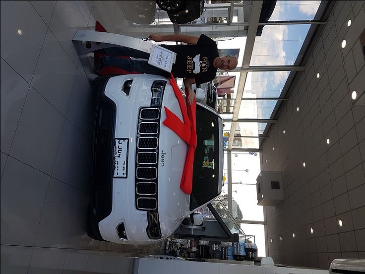 Congratulations Chris From Victor Harbor On The Purchase Of Your New Jeep Grand Cherokee Laredo!  This month's photo is courtesy of Chris who just recently changed his 2012 Grand Cherokee Laredo for a brand new 2017 Laredo!  Thank you Chris for choosing Adrian Brien Jeep!  Click here to learn more... http://adrianbriencars.com.au/blog/6008/congratulations-chris-from-victor-harbor-on-the-purchase-of-your-new-jeep-grand-cherokee-laredo/