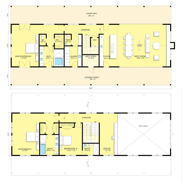 Modern Farmhouse Plan #888-15 by Architect Nicholas Lee