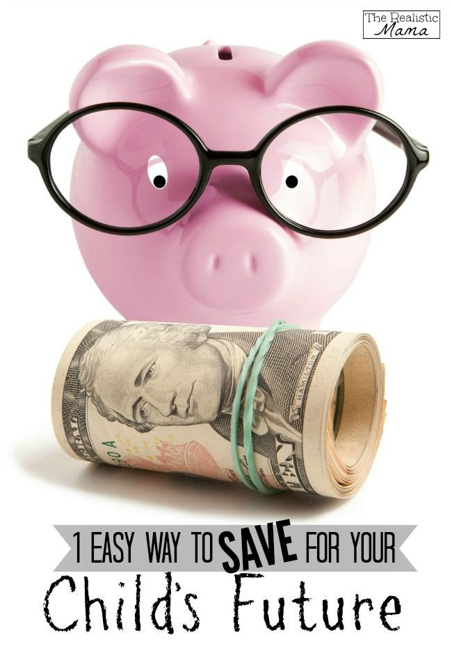 How to save money for your kids. One easy way to save over $10,000.