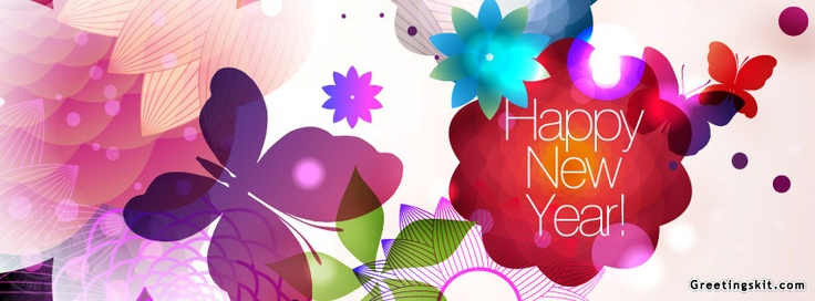 Happpy New Year FB Timline Cover @ Greetingskit.com