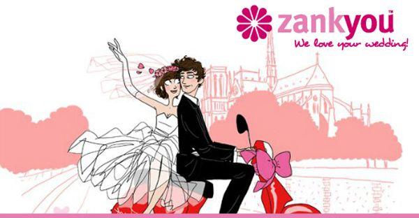 Zankyou | online wedding registry