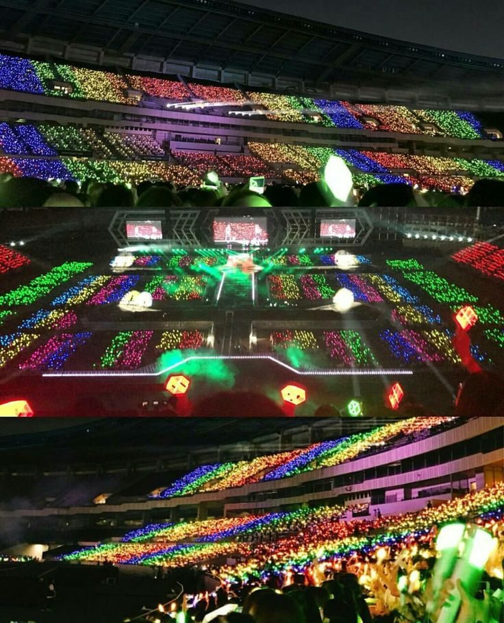 colourful EXO-Ls ocean