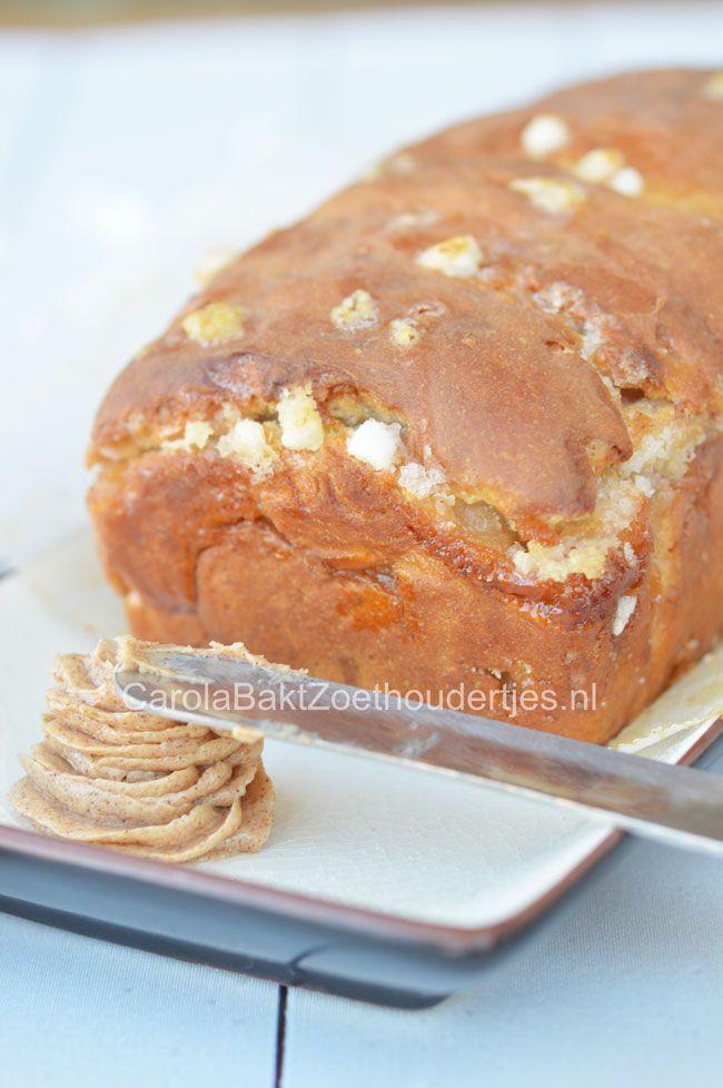 Suikerbrood (Recipe in Dutch for sugar bread) | CarolBaktZoethoudertjes.nl