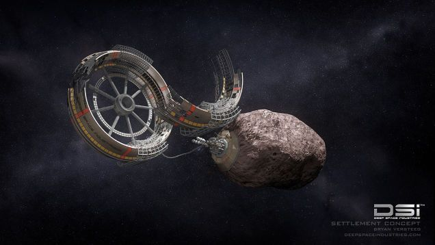 How Asteroid Mining Could Pay for Our First Space Colony