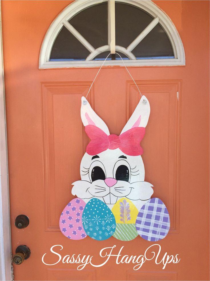 Easter Wreath Easter Door Hanger Easter Decorations