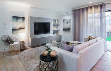 An East Vancouver show home decorated with soft neutral tones. #homestagingvancouver