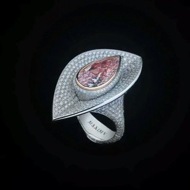 Diamond White-Gold Ring