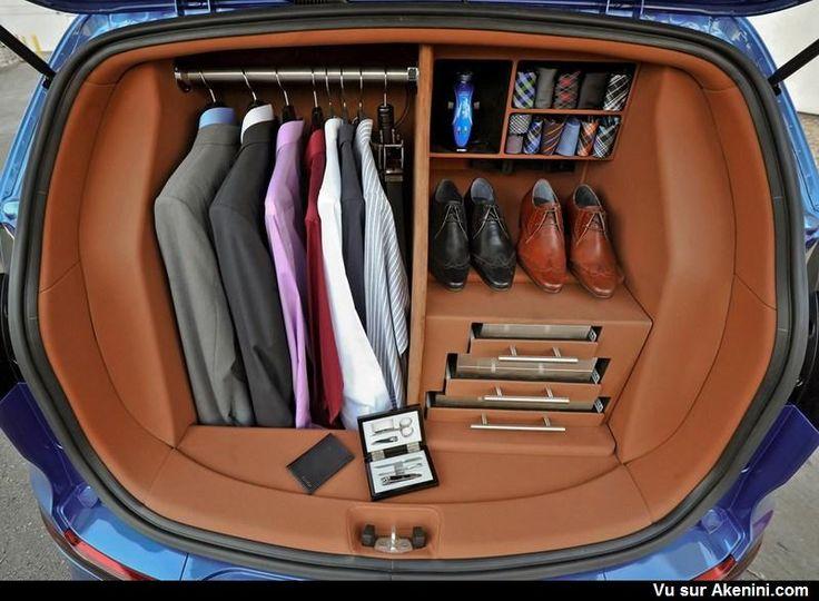 les 25 meilleures id es de la cat gorie organisateur de coffre de voiture sur pinterest. Black Bedroom Furniture Sets. Home Design Ideas