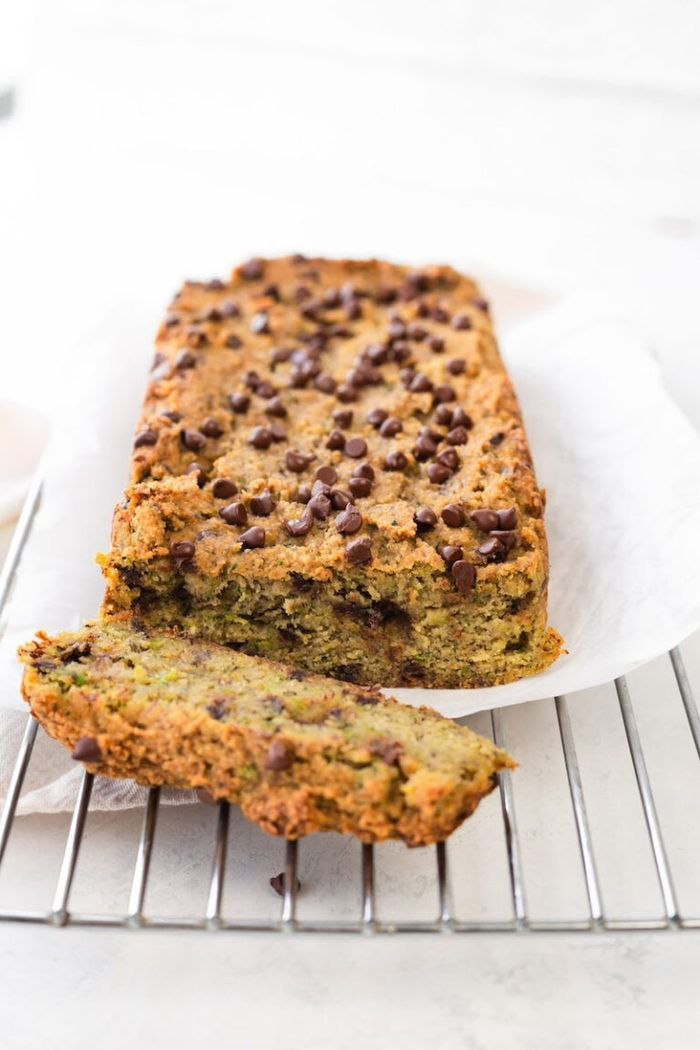 Vegan Zucchini Bread With Almond Flour Oil Free Eating Bird Food Recipe In 2020 Vegan Zucchini Bread Almond Flour Chocolate Chip Zucchini Bread