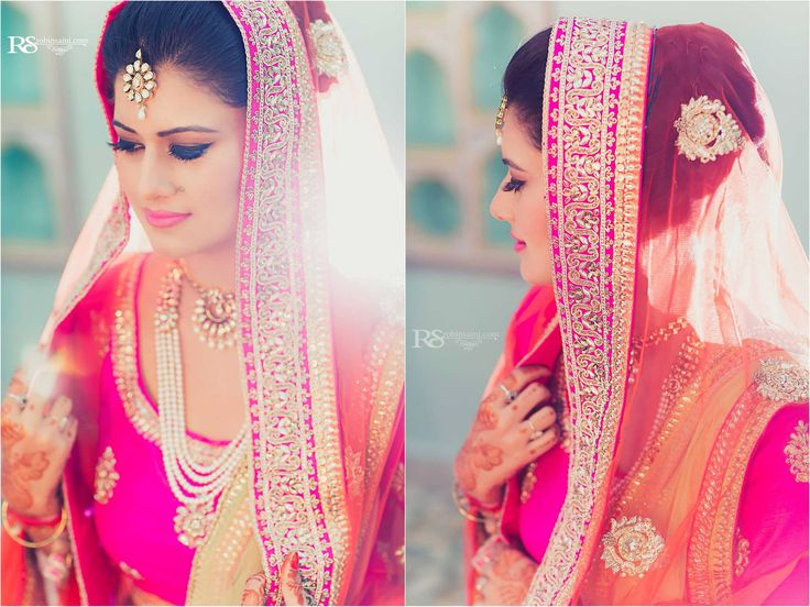 Perfectly captured bride by @StoriesbyRobin  Saini