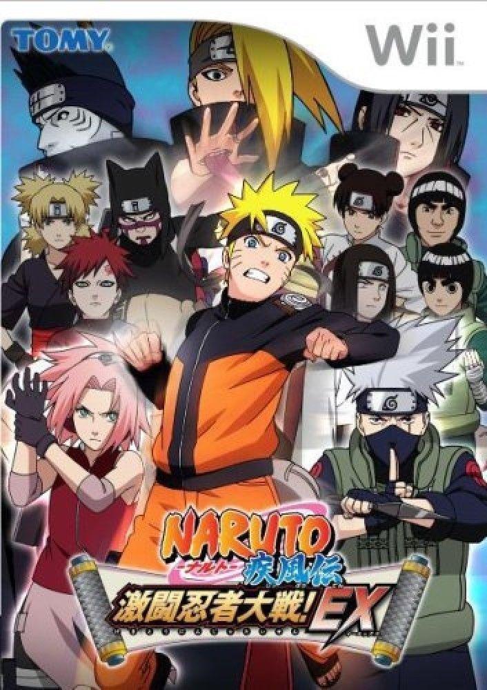 Naruto Shippuuden Gekitou Ninja Taisen Ex Nintendo Wii Ntsc J Japanese Import 4904810745228 Ebay Naruto Cosplay Costumes Naruto Naruto Cosplay