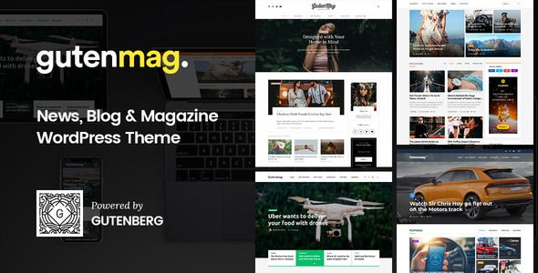 Gutenmag Gutenberg Wordpress Theme For Magazine And Blog Stylelib Magazine Theme Wordpress Magazine Blog Wordpress