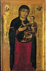 Энрико ди Тедиче. Мадонна с младенцем. ц. Сан Верано, Печчоли.