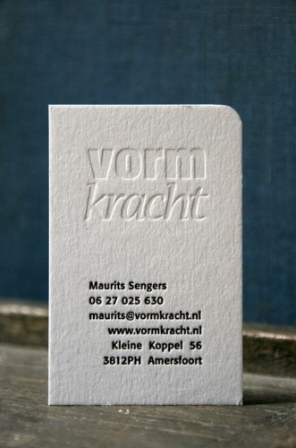businesscard we printed!