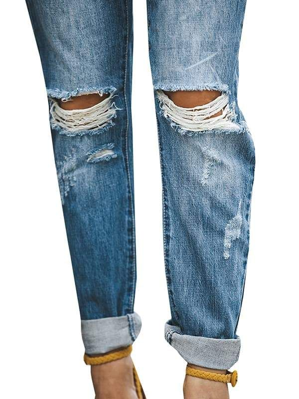 1ae746e181 90 s High Waist Distressed Boyfriend Jeans (All Sizes) Best ripped skinny  feminino bootcut jeans for curves  jeans  curvesarebeautiful  women   womensfashion ...