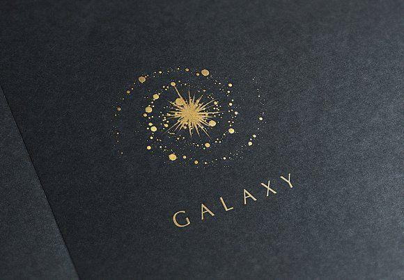 Galaxy Logo by Michael Rayback | TaylorAdams4Me on @creativemarket