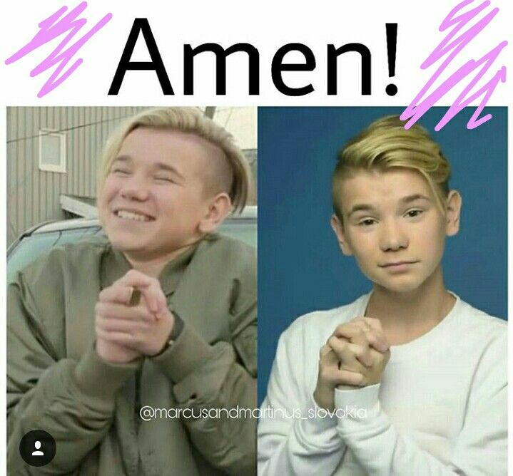 My two faviorte things in one pic  prayer and martinus