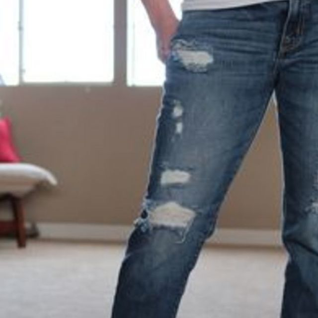 How to Cut Holes in Jeans